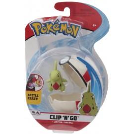 Giochi Preziosi Pokemon Pokemon Clip'n Go con Personaggio Larvitar & Timer Ball  PKE13000