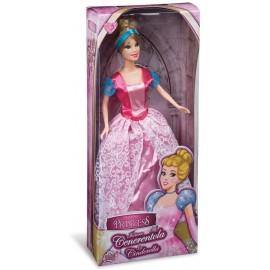 Fashion Doll Principessa Cenerentola 30 cm circa, Grandi Giochi GG02901
