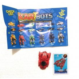 Kart Bots Kartbots Kar Tbots Trasforming Robots (Kartbots DOGON)L'ORIGINALE