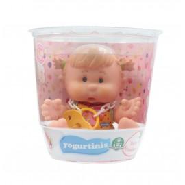 Yogurtinis Barattolo con Bambola Profumata, 20 cm, Terry Strawberry Gusto Fragola di Giochi Preziosi