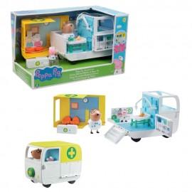 Peppa Pig Ambulanza, Giochi Preziosi PPC28000