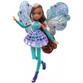Winx Magic Cosmix Fairy Aisha con Ali Olografiche di Giochi Preziosi WNX58000