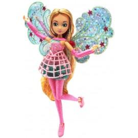 Winx Magic Cosmix Fairy Flora con Ali Olografiche di Giochi Preziosi WNX58000