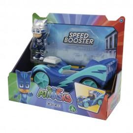 Pj Masks, Gattoboy Veicolo Speed Booster di Giochi Preziosi  PJM60300