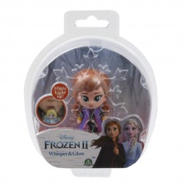 Disney Frozen 2 Whisper and Glow  Mini Doll Anna vestito da viaggio di Giochi Preziosi