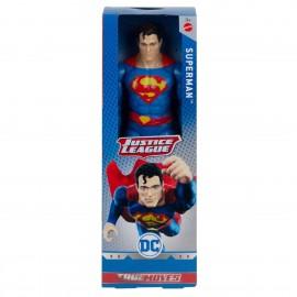 Justice League- Superman Personaggio Articolato 30 cm, GDT50 Mattel