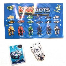 Kart Bots Kartbots Kar Tbots Trasforming Robots (Kartbots Storm)L'ORIGINALE