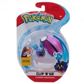 Pokemon Clip 'N Go con Personaggio Cosmog e Master Ball di Giochi Preziosi PKE01000