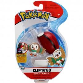Pokemon Rowlet + Poke Ball Clip 'N Go di Giochi Preziosi  PKE10000