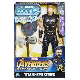 Marvel Avengers Infinity War Thor Titan Hero Power FX, 30 cm di Hasbro  E0616103