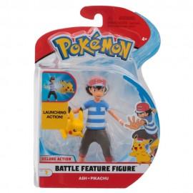 Pokemon Ash e Pikachu Personaggio con Funzione,Giochi Preziosi  PKE11000