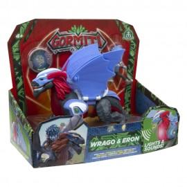 Gormiti, Hyperbeasts Deluxe 15 cm, Wrago & Eron di Giochi Preziosi GRE05000