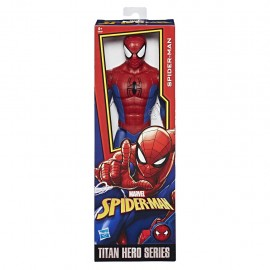 Spider-Man - Titan Hero Power FX , Personaggio 30cm, Hasbro E0649