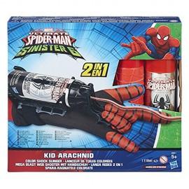Spara-Ragnatele Colorate Kid Arachnid Marvel - Ultimate Spider-Man - Sinister 6 B5871