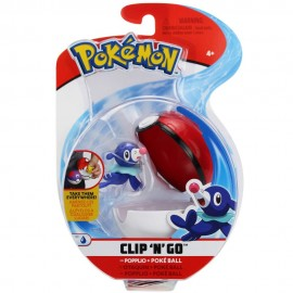 Pokemon Popplio + Poke Ball Clip 'N Go di Giochi Preziosi PKE10000
