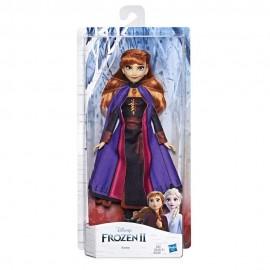 Disney Frozen 2 - Anna Fashion Doll 28 cm circa di Hasbro E6710-E5514