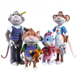 TOPO TIP -  Famiglia di topi di peluche di Simba
