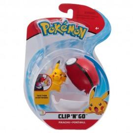 Pokemon Clip 'N Go con Personaggio Pikachu e Poké Ball di Giochi Preziosi PKE01000