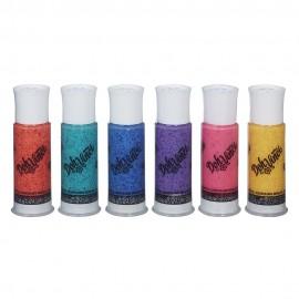 Doh Vinci - Refill Colori Sparkle X 6  con glitter