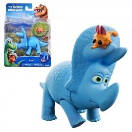 """Disney Arlo The Good Dinosaur """"  Figura Carattere Triceratops Sam   """" + MINI PERSONAGGIO NELLA CONFEZIONE gpz 18643"""