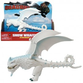 Dragons - Action Game Set - Dragon Snow Wraith Flapping Wings