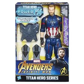 Marvel Avengers Infinity War - Captain America elettronico, 30 cm di Hasbro