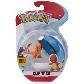 Giochi Preziosi Pokemon Pokemon Clip'n Go con Personaggio Charmander & Great Ball  PKE15000