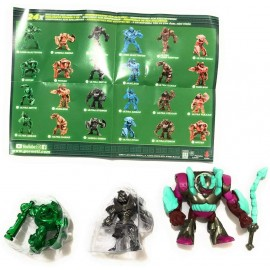 Gormiti Edizione Speciale Mistery Box 19 : Ultra Hydros 8 cm + Ultra Omega Motak e Ultra Lord Keryon 4-5cm Colori Speciali