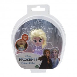 Disney Frozen 2 Whisper and Glow Mini Doll Elsa di Giochi Preziosi