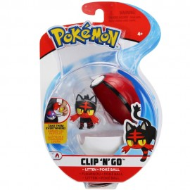 Pokemon Litten + Poke Ball Clip 'N Go di Giochi Preziosi  PKE10000