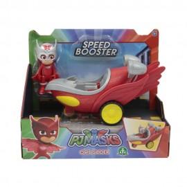Pj Masks Gufetta Veicolo Speed Booster di Giochi Preziosi PJM60300