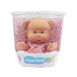 Yogurtinis Barattolo con Bambola Profumata, 20 cm, Cary Raspberry Gusto Lampone di Giochi Preziosi