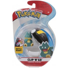 Giochi Preziosi Pokemon Pokemon Clip'n Go con Personaggio Munchlax & Ultra Ball   PKE15000