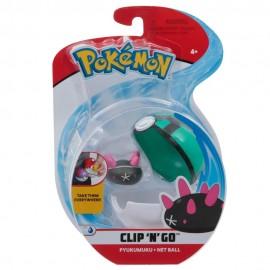 Pokemon Clip 'N Go con Personaggio Pyukumuku e Net Ball di Giochi Preziosi PKE01000