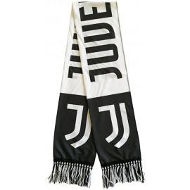 Nuova Sciarpa con Logo Ufficiale Juventus - Juventus - Acrilico 100% 140 X20 CM Circa Nuovo Logo - Versione Deluxe
