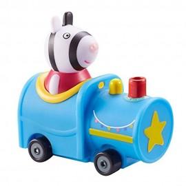 Peppa Pig - mini veicolo Zoe Zebra nel treno di Giochi Preziosi