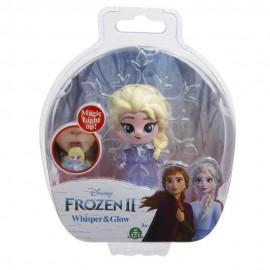 Disney Frozen 2, Whisper and Glow, Elsa con vestito da viaggio di Giochi Preziosi