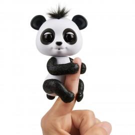 Fingerlings Baby Panda Drew, Nero con glitter di Giochi Preziosi FNG09000