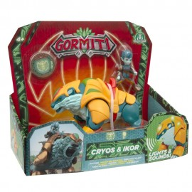 Gormiti, Hyperbeasts Deluxe 15 cm, Cryos & Ikor di Giochi Preziosi GRE05000