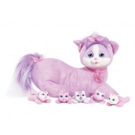 Kitty Surprise - Mom e Her kittens Iris Wave 1 Plush Toy  by Puppy Surprise scopri quanti cuccioli ha 3?4?5?