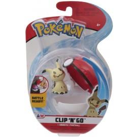 Giochi Preziosi Pokemon Pokemon Clip'n Go con Personaggio Mimikyu & Poke Ball  PKE15000