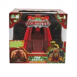 Gormiti, Playset Fire Castle, Castello del popolo del fuoco con Personaggio 5 cm esclusivo di Giochi Preziosi GRE07000