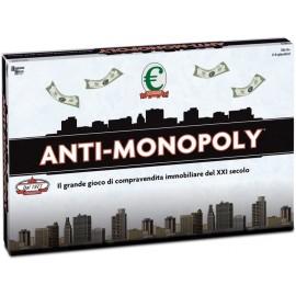 Hasbro - Anti Monopoly gioco di strategia in Italiano