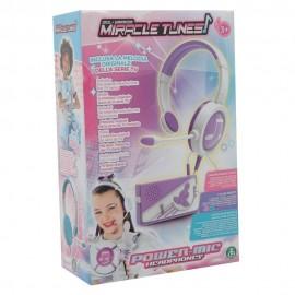 Miracle Tunes Cuffie con Amplificatore Base Musicale, Viola di Giochi Preziosi MRC01000