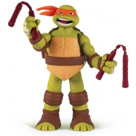 Giochi Preziosi - GPZ91160/4 - Turtles - Michelangelo Deluxe 15cm C/Suoni