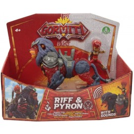 Gormiti S3 Hyperbeast Alpha Pyron & Riff , Giochi Preziosi GRA09000