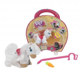 Pet Parade Pony Parade, Blister Singolo, Pony Razza White, Bianco  di Giochi Preziosi PTN00000