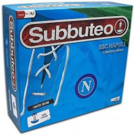 Subbuteo Napoli Playset Retro con Tappeto Gioco, 2 Porte, Pallone e 22 Giocatori di Giochi Preziosi BBT11000