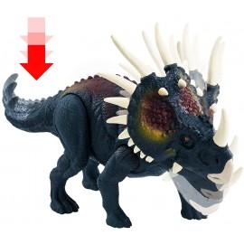 Jurassic World Attacco Selvaggio, Dinosauro Styracosaurus di Mattel GCR54-GCR59