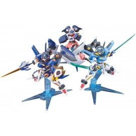 LBX Bandai 1/1 Little Battlers W (double) LBX LBX zero Icarus Icarus Force LBX Minerva breaks (LBX Paradise capture set)